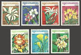 KAMPUCHEA 1984 FLOWERS MAGNOLIA LILY FLOWERING TREES SET MNH - Kampuchea