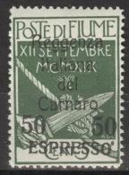 Fiume-Carnaro 19 ** Postfrisch - Occup. Iugoslava: Fiume