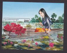 Cambodia, Scott #2274, Mint Hinged, Flowers, Issued 2005 - Cambodia