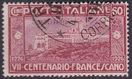Italy-Colonies And Territories-Tripolitania S30 1926 St Francis Of Assis, 60c Red,used - Tripolitania
