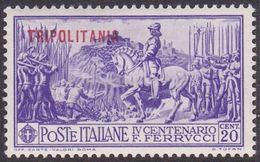 Italy-Colonies And Territories-Tripolitania S64 1930 Ferrucci,20c Violet,used - Tripolitania
