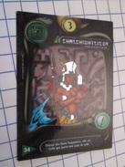 Carte Du Jeu DEUS N° 34 BRILLANTE ARGENT CHALCHIUTLIQUE   (Civilisation AZTEQUE ? ) , En Très Bon état , Voir Photos - Group Games, Parlour Games
