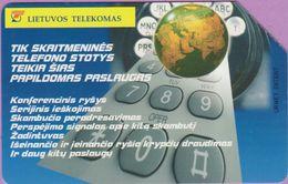 Télécarte Lituanie °° Urmet 38 - Tik Skaitmeninès Telefono -25 - Lituanie