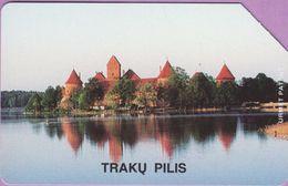 Télécarte Lituanie °° Urmet 2 - Traku Pilis - *** 200 ° - Lituanie