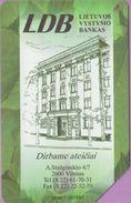 Télécarte Lituanie °° Urmet 25 - LDB - Bankas Vilnius-50 - Lituanie