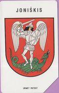 Télécarte Lituanie °° Urmet 36 - Blason Joniskis-25 - Lituanie