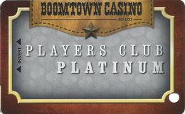 Boomtown Biloxi Casino - Biloxi, MS - Blank PLATINUM Slot Card - Casino Cards