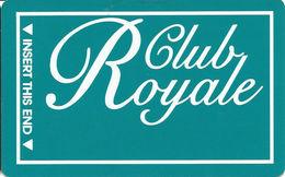 Casino Royale Las Vegas, NV - BLANK Slot Card - CPICA 2015844 Over Mag Stripe - Casino Cards