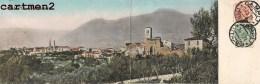 CAMPLI PANORAMA DOUBLE 28 X 9 CM ITALIE ITALIA ABRUZZO - Italy