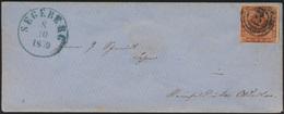 Altdeutschland Schleswig Brief Dänemark 4 Stemel 113 Segeberg Reinfeld Oldesloe - Schleswig-Holstein
