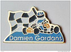 Pin´s Damien Gardans Karting - A1 - Autres