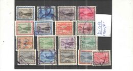Arabia Saudita 1960/62 Diga Hanifa Valori 17 Usati Scott.212/235 See Scan - Arabia Saudita