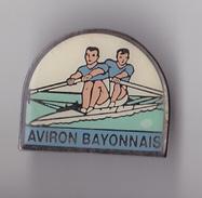 PIN´S THEME SPORT AVIRON CLUB DE BAYONNE - Rowing