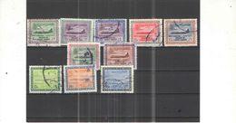 Arabia Saudita 1960/78 Posta Aerea Valori 10 Usati Scott.C7+8+10+11+12+13+14+71+72+74 See Scan - Arabia Saudita