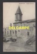 DD / GUERRE 1914-18 / MARBOTTE ( MEUSE ) / L' ÉGLISE BOMBARDÉE / CIRCULÉE EN 1915 - Guerra 1914-18
