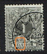 43  Obl  Velaines (+8)  LV 10 Trait Blanc Gueule Entre LG - Variétés (Catalogue Luppi)