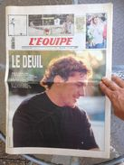 Journal L'Equipe N°14927 (3 Mai 1994) LE DEUIL / Une Spéciale Senna F1 - Zeitungen