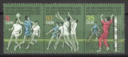 DDR 1928/30 Dreierstreifen O Tagesstempel - [6] Oost-Duitsland