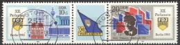 DDR 2947/48 Dreierstreifen O Tagesstempel - [6] Oost-Duitsland
