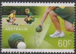 AUSTRALIA - USED 2012 60c Lawn Bowls - Usati