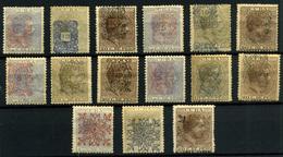 Cuba Nº 74/88. Año 1883 - Cuba (1874-1898)