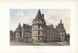 1900 - Phototypie Couleur - Mesnières-en-Bray (Seine-Maritime) - Le Château - FRANCO DE PORT - Vieux Papiers