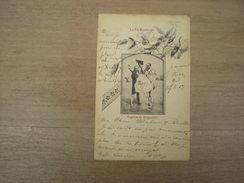 La Vie Balnéaire, Caprice De Baigneurs, 1900, Timbre (K2) - Femmes