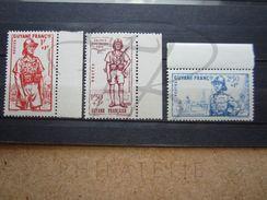 VEND BEAUX TIMBRES DE GUYANE FRANCAISE N° 169 - 171 +BDF , XX !!! - Guyane Française (1886-1949)