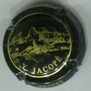 CAPSULE-CHAMPAGNE JACOPE Y. N°06 Noir & Or - Champagnerdeckel
