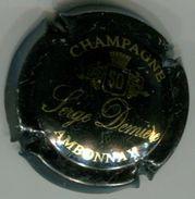 CAPSULE-CHAMPAGNE DEMIERE Raymond N°02 Noir & Or Brillant - Champagnerdeckel