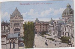 ROMANIA - Bucuresti, Vedere Spre Casa De Depuneri - Roumanie