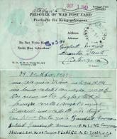CARTOLINA PRIGIONIERI U.S.A. POW CAMP FLORENCE ARIZONA 1943 NICASTRO - 1900-44 Vittorio Emanuele III