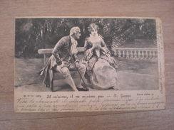 Il M'aime, Il Ne M'aime Pas, Série Riche 51, 1901, Timbre (K2) - Peintures & Tableaux