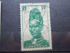 "VEND BEAU TIMBRE DU CAMEROUN N° 166 , OBLITERATION "" YAOUNDE "" !!! - Cameroun (1915-1959)"