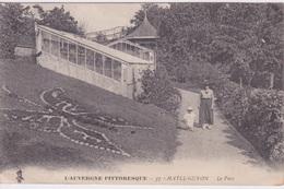 63 - CHATEL GYON - LE PARC - PAPILLON EN FLEURS - AUVERGNE PITTORESQUE - Châtel-Guyon