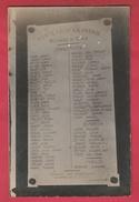 Courcelles -Plaque Du Monument Aux Morts ... Reprenant Les Noms Des Combattants- Carte-photo ( Voir Verso ) - Courcelles