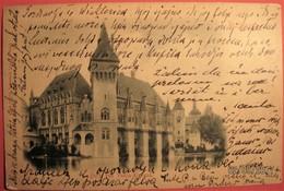 Hungary - Budapest, Burg Von Vadja Hunyad - Hungary