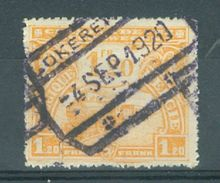 """BELGIE - OBP Nr TR 117 - Cachet  """"LOKEREN"""" - (ref. 15.044) - Chemins De Fer"""