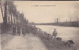 14----CAEN---la Promenade Du Canal--voir 2 Scans - Caen