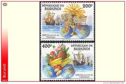 Burundi 1010/11**   Decouverte De L´Amerique MNH - 1990-99: Mint/hinged