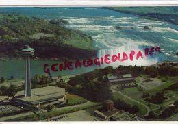 CANADA - QUEBEC  - NIAGARA FALLS -VUE AERIENNE DE LA LIGNE D' HORIZON ET LES CHUTES HORSESHOE - Quebec