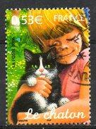 FRANCE. N°3897 De 2006 Oblitéré. Chat. - Chats Domestiques
