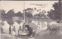 DAHOMEY---RARE---( Moyen Niger )--sur Le Niger--voir 2 Scans - Dahomey