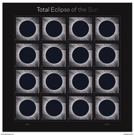 General Eclipse Of The Sun  Forever 49 ¢ | Sheet Of 16 - Etats-Unis