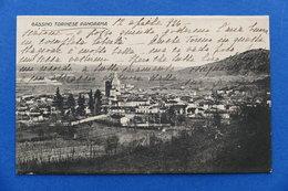 Cartolina - Gassino Torinese Panorama - 1924 - Italia