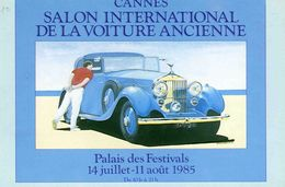 AUTOMOBILE /  /  L 38  / CANNES  SALON DE LA VOITURE 1985   CPM / CPSM   10 X 15 - Voitures De Tourisme