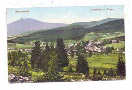 BÖHMEN & MÄHREN - MARKT EISENSTEIN / ZELEZNA RUDA, Ortsansicht Mit Arber, 1908 - Böhmen Und Mähren