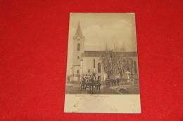 Slovensko Slovenska Varannò Vranov Nad Topľou Katholic Templom 1914 + Nice Stamp Et Caleche - Slowakije
