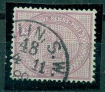 Deutsches Reich. 2 Mark Im Oval, Nr. 37 D Gestempelt, Geprüft BPP - Deutschland