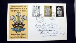 Grossbritannien 523 Und 525/6 FDC - 1952-.... (Elisabetta II)